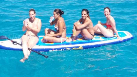 Tavola da surf stand up paddle a Formentera