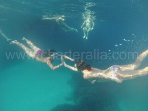 fare snorkeling a Ibiza