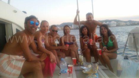 giorno charter barca ibiza