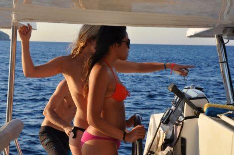 gite in barca Ibiza