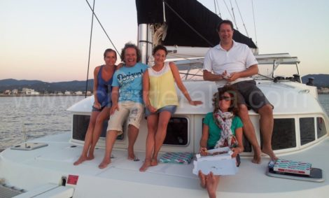 gite in barca tramonto ad ibiza