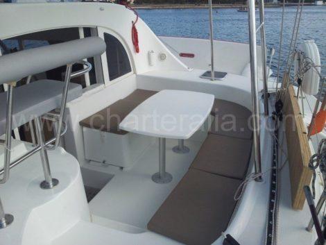 noleggio barche in lagoon 380 di catamarani ibiza
