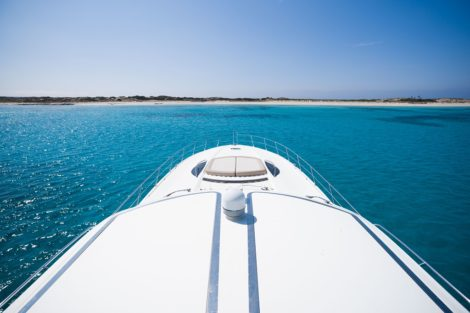 Lettino prendisole Sunseeker Predator 75 Ibiza Formentera