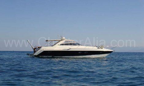 Sunseeker 46 yacht huren Ibiza