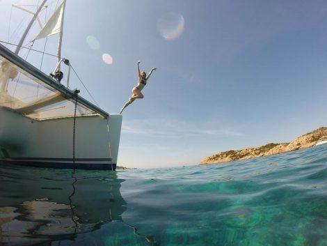 Bootverhuur inclusief excursies van een dag naar Formentera