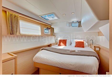 Dubbele cabine catamaran Ibiza