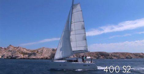 zeilen met een catamaran in ibiza