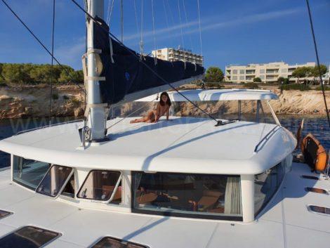 Het algemene uiterlijk van de catamaran is onverslaanbaar