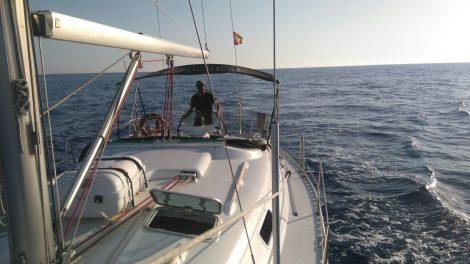 Oceanis 383 te huur op Ibiza