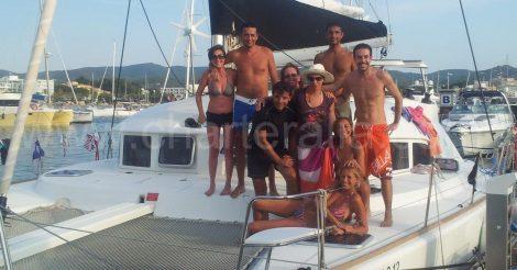 Foto voor facebook catamaran van Ibiza