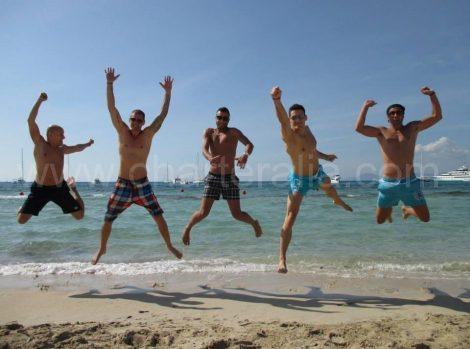Stranden van Formentera Illetes