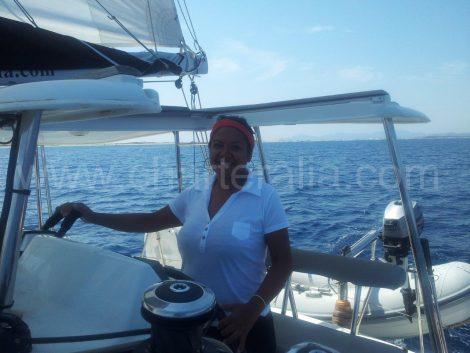 Yacht charter gastvrouw