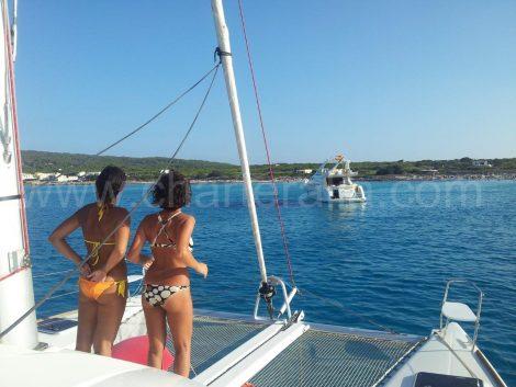 Zeilboten te huur op Ibiza