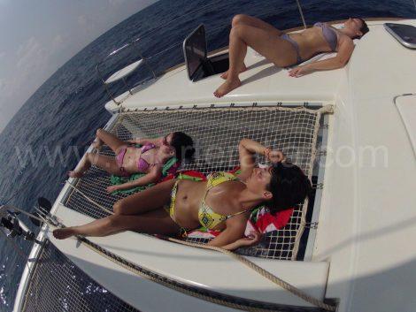 bootverhuur ibiza catamaran