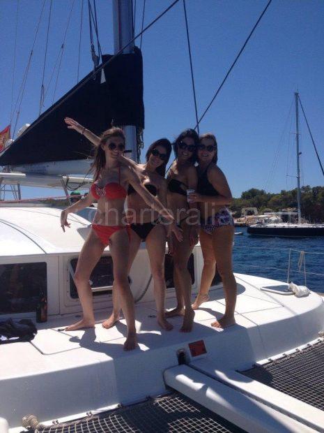 stabiliteit van de catamaran