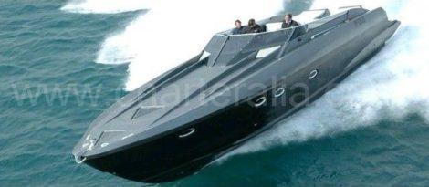 Motorboot Stealth 50 daagse tochten op de Pitiusas eilanden