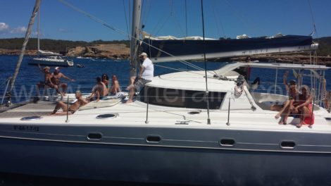 catamaran verhuur in Ibiza FP Belize 43