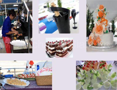viering van bruiloften en evenementen in catamaran ibiza