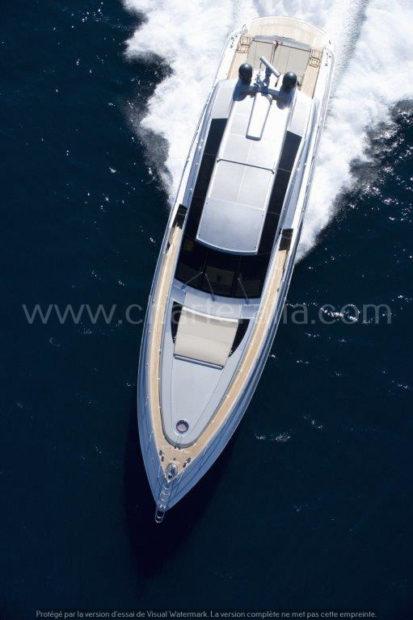 Canados 90 luxe jacht Ibiza hemelzicht