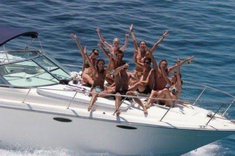 Aluguer de iates Cranchi 39 Endurance em Formentera e Ibiza, Ilhas Baleares