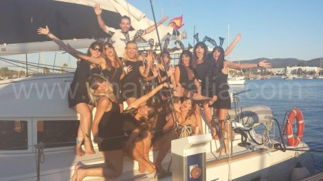 Festa do bachelorette do ibiza do partido do tema
