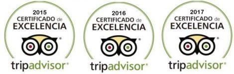 Certificado de excelencia Portugal Tripadvisor Charteralia Aluguer barcos Ibiza