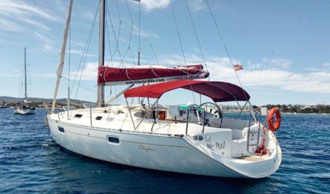 aluguel de barco a vela Ibiza-Oceanis-351