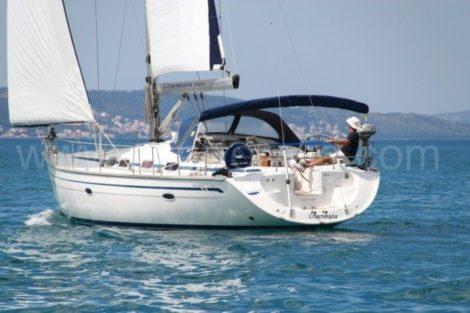 aluguer de barco a vela ibiza Bavaria 46