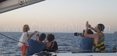 paris hilton lagoon 400 catamara charteralia