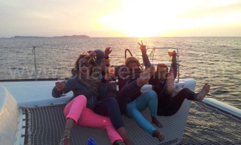 Aluguer de barcos em casamento Ibiza