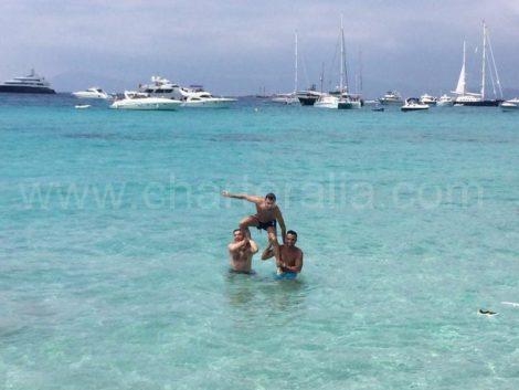 Praia de Illetas na ilha de Formentera
