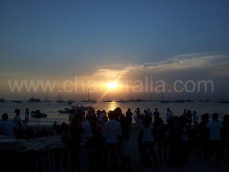 por do sol Formentera Ibiza