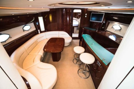 Sala de estar de luxo PRINCESS V65