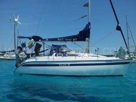 парусныи спорт Ибицу прокат лодок и Форментере
