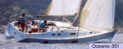 Аренда парусной лодки на Ибице Beneteau Oceanis 351 Clipper
