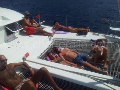 Парусныи спорт на чартернои лодке из Ибицы в Форментеру