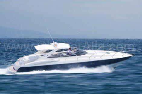 Удивительная сила Sunseeker 46 Аренда моторнои яхты на Ибице