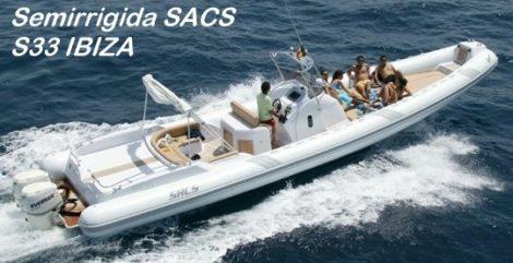 Semirrigida SACS S33 Ибица