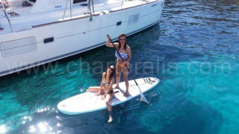 Лужа для серфинга на Ибице