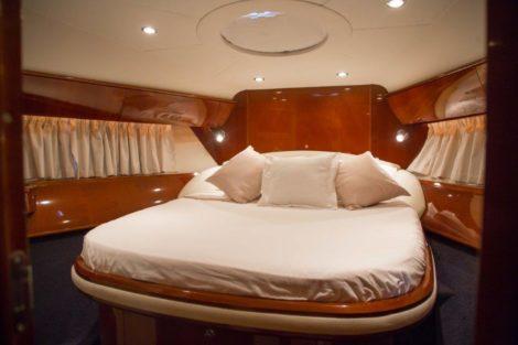 V58 Princess master спальня с двуспальной кроватью