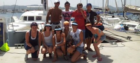 club nautico de San Antonio en Ibiza