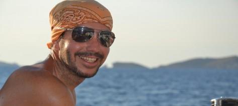 patron de barcos de alquiler Ibiza