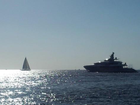 Veleros y yates de lujo en Ibiza