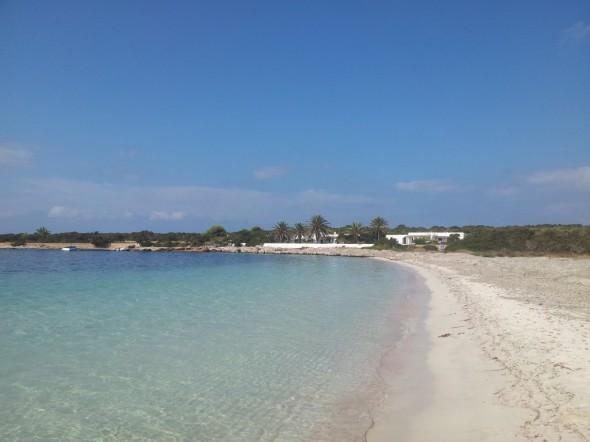 Alquiler barcos Ibiza un dia visita Espalmador