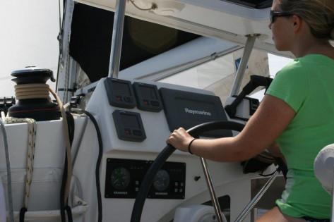 Panel de control barco Ibiza