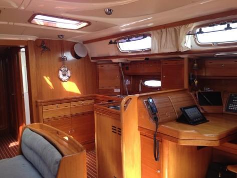 Interior barco Ibiza