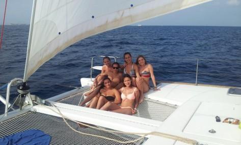 alquiler catamaran Malaga