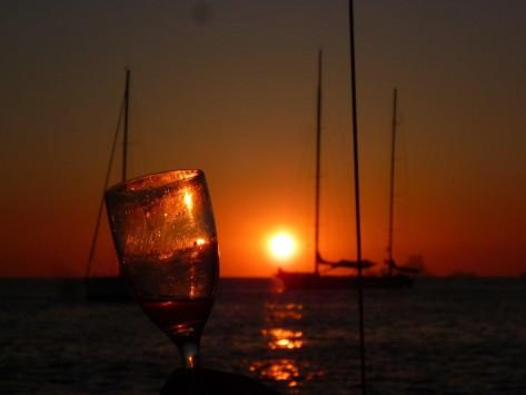 Ibiza desde un barco