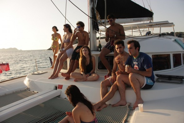 excursion en barco Ibiza
