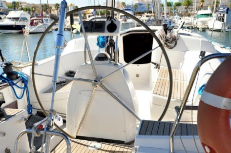 Rueda timon velero Formentera